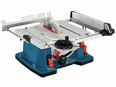 "Bosch GTS 10 XC Pro Sliding Carriage Table Bench Saw 10"" 254mm 2100W  GTS10 240V"