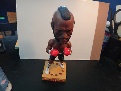 Hollywood Collectibles Rocky Clubber Lang Bobble Head Statue Mr T very rare ++