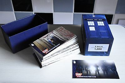 Topps Dr Who Limited Ed Base Set Featuring 10Th Doctor No. 29 Of Only 1500 Sets