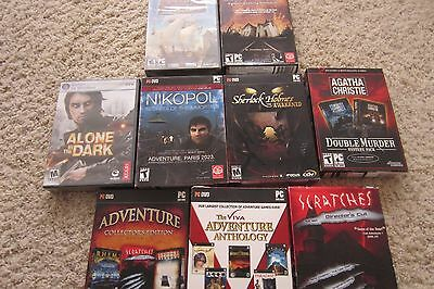 Lot of 9 PC Games, 2000-2010, genuine, NEW factory sealed
