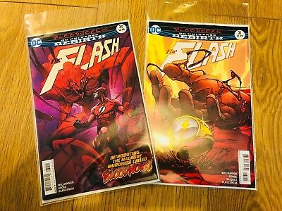 Flash #30 #31 - Bloodwork Parts 1 and 2 - DC Universe Rebirth - 1st - NM - B&B