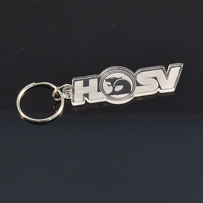 Holden HSV Badge Car Keyring - Handmade Laser Cut Clear Acrylic Gift