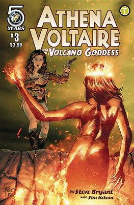 ATHENA VOLTAIRE AND THE VOLCANO GODDESS #3 CVR A BRYANT 1st Print