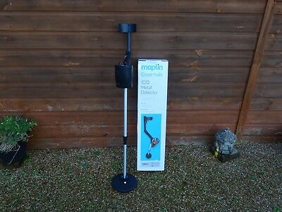 Maplin Essentials 100 Metal Detector beginners with analogue display Tresure