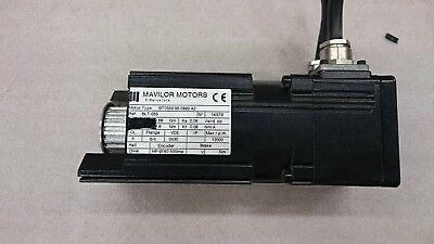 MAVILOR AC Servo Motor BT0559.99.099.A2, Infranor MSP 0307 Drive & Timing Belt