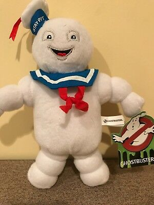 ghostbusters stay puft marshmellow man 9 inch plush with tags