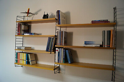 STRING WALL UNIT Nisse Strinning Shelf 60s 60er Regal System mid century modern