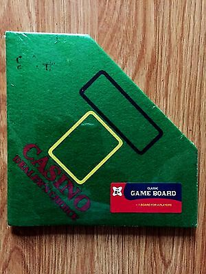 Casino Dealer's Choice Foldable Classic Game Board for 4 Players