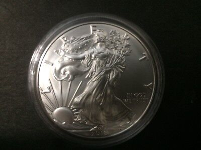 2018 1oz Silver American Eagle Bullion coin .999 Fine One dollar BU uncirculated