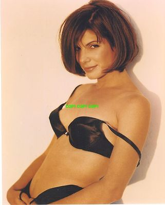 Sandra Bullock 8x10 PHOTO actress sexy bra pinup Speed Blind Side  FREE SHIPPING