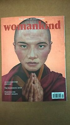 WOMANKIND MAGAZINE ISSUE #15 FEB 18 - APR 18 - The Skill of Happiness