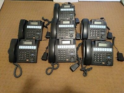 PANASONIC KX-TS4200 4 LINE INTEGRATED PHONE WITH POWER CORD- 5 Available