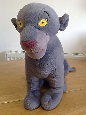 "The Jungle Book ~ BAGHEERA ~ 11"" Soft Plush Toy ~ DISNEY HASBRO 2002"