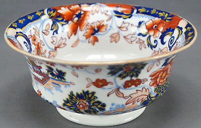Rare Minton Amherst Japan Early British Porcelain Waste Bowl Circa 1824 - 1836