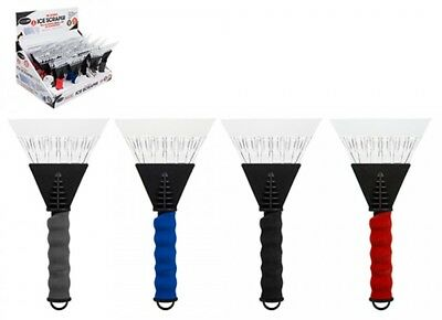 Heavy Duty Ice Scraper Essential auto Winter Ice Snow Brushes Assorted Colours