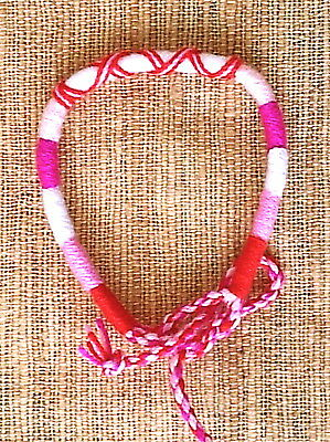 Cotton Surfer Friendship Wristband Mens Womens Boys Girls Bracelet   B4 0045