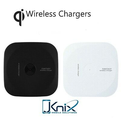 Qi Wireless Fast Charger Charging Pad for Samsung Galaxy Note 8 S8+ iPhone X 8 +