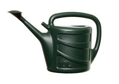 10L Watering Can & Rose Light Weight Green Garden Greenhouse Plant Water Sprayer