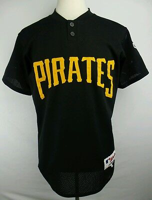half off 612d1 49a81 VINTAGE MAJESTIC PITTSBURGH Pirates # 40 Jacobs Pullover Baseball Jersey  Size 40