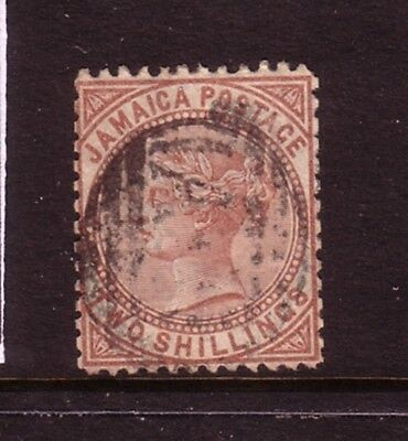 JAMAICA....  1870  2s vermillion used, perf12½