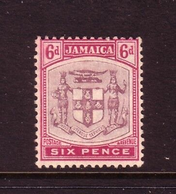 JAMAICA....  1905  6d purple  mint