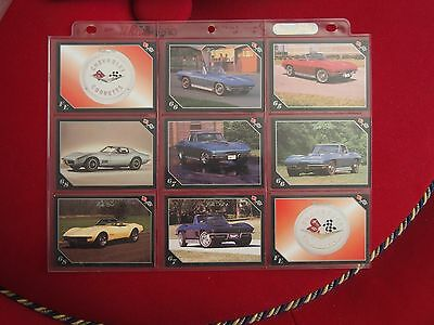 Chevrolet Corvette Trading Cards - Vette Set - Year Models 1965 to 1968