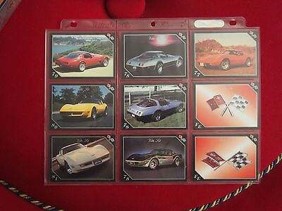 Chevrolet Corvette Trading Cards - Vette Set - Year Models 1977 to 1981