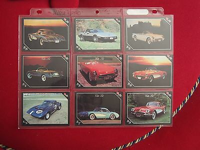 Chevrolet Corvette Trading Cards - Vette Set - Year Models 1953 1986