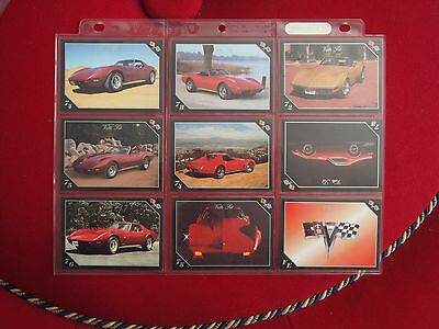 Chevrolet Corvette Trading Cards - Vette Set - Year Models 1972 to 1976