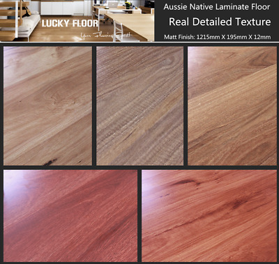 Sample pack: 12mm Aussie Native Laminate Flooring Floating Timber  Floor boards