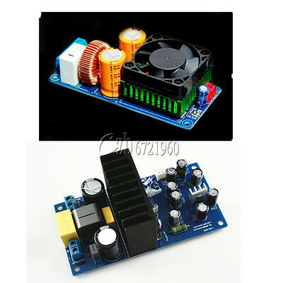 IRS2092S 250W/500W Mono Channel Digital Amplifier HIFI Power Amp Board + FAN