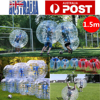 1.5m Body Inflatable Bumper Football Zorb Ball Bubble Soccer Knocker Bubble Toy