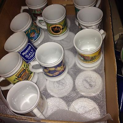 The Corner Store Franklin Porcelain Cup Mug Collection 1984. LOT OF 25