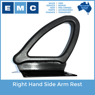 Right Hand Arm Rest for Low Speed Vehicles