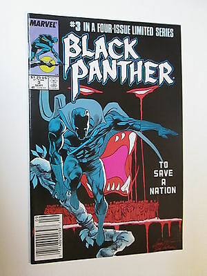 Marvel Comics: Black Panther #3 Sept 1988 First Printing: To Save A Nation