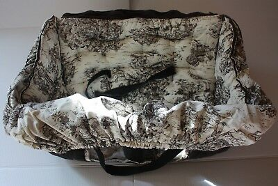 *Pre-owned* Buggy Bagg Shopping Cart Cover - Black Toile (Retired pattern)