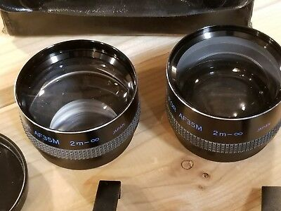Yashica Yashinon Wideangle Wide Angle Aux Lens Set for AF35M