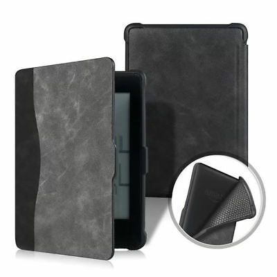 For Amazon Kindle Paperwhite 1/2/3 Smart Flip Retro PU Leather Stand Case Cover