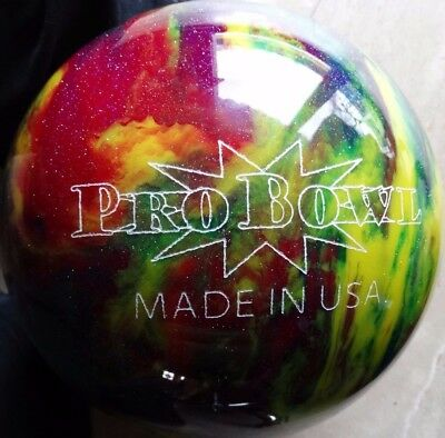 Pro Bowl Polyester Bowling-Ball 12 lbs - ungebohrt -