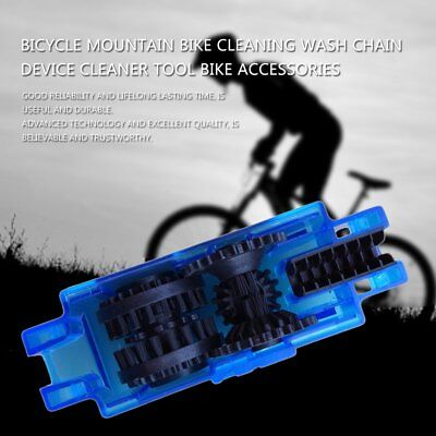Cycling Bike Chain Cleaner Bike Cleaning Machine Brushes Bicycle Wash Tool New A