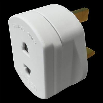 13A Shaver Adaptor Fused 1A