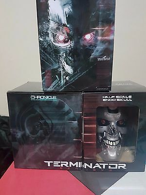 Terminator Genisys Endo Skull LOOT CRATE Exclusive FREE POSTAGE!!!