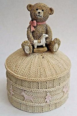 My First Christmas - Baby's First Trinket Box - Baby Girl - Brand New