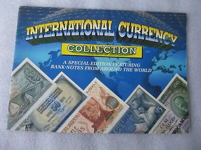 INTERNATIONAL CURRENCY COLLECTION SPECIAL EDITION BANK NOTES complete