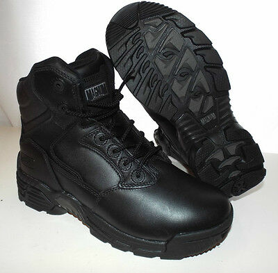 MAGNUM BLACK LEATHER STEALTH FORCE 6.0 BOOTS - Size: 6 UK , British Army NEW