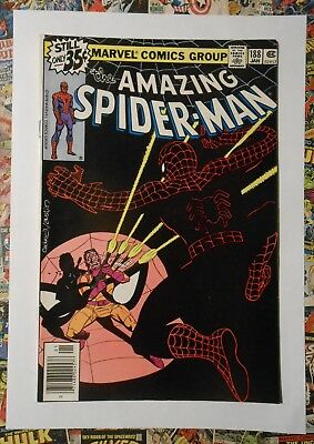 Amazing Spider-Man #188 - Jan 1979 - Jigsaw Appearance! - Vfn - (8.0) Cents!