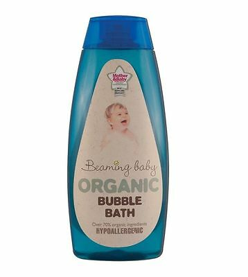 BEAMING BABY ORGANIC BUBLE BATH 250ml -MOTHER & BABY AWARDS 2007/8 BEST SKINCARE
