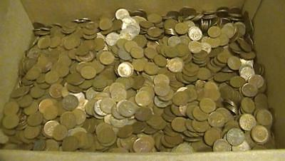 Mixed Date Canadian Penny 2 Rolls GREAT MIX Lot of 100 Coins No Culls SEE PICS