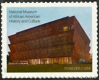 US Scott #5251, Forever Single 2017 National Museum of African American VF MNH