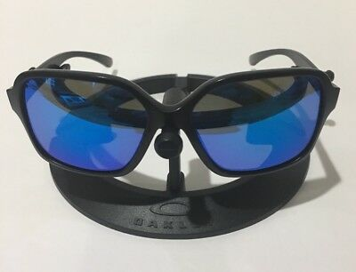 Oakley Women's Sunglasses OO9312-06 PROXY Matte Black/Sapphire Iridium Lens